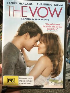 DVD's 'The Vow' 'Rambo' 'Dukes of hazard'