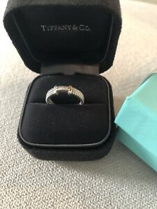 Tiffany Somerset Ring with sparkly diamonds. Not Negotiable!
