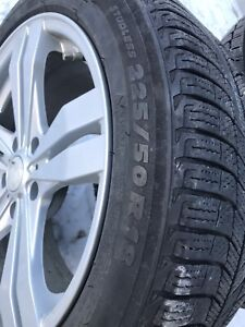 Michelin  X-Ice tires and wheels