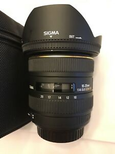 Sigma 10-20 mm , canon mount