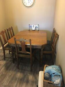 1920s dining room set