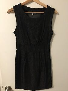 Urban Outfitters Black Shift Dress - Size 0