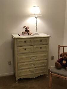 Painted wood children's room furniture