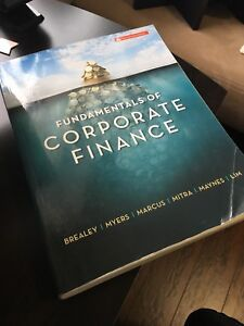 Fundamentals of Corporate Finance (Sixth Canadian Edition)
