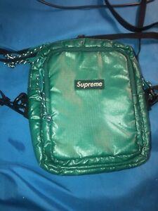 Supreme shoulder bag dark teal