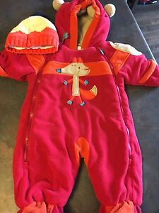 6month snowsuit and matching hat