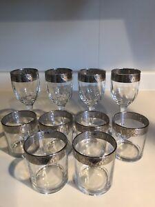 10 Italian Collection Silver Rim Glasses
