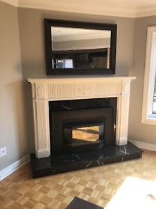 Fireplace Mantle $100
