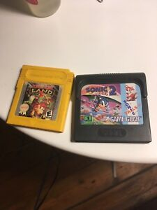 donkey kong land 2 et sonic the hedgehog 2