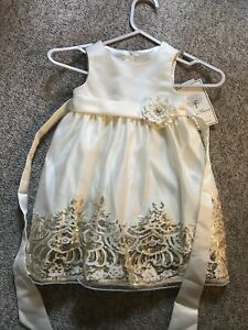 2T flower girl dress