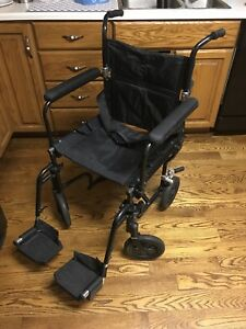 Transfer chair - Airgo, light weight, roomy great condition