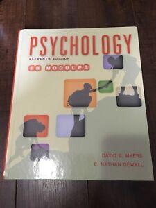 Psychology Eleventh Edition in Modules: Psychology 1101 1103 CBU