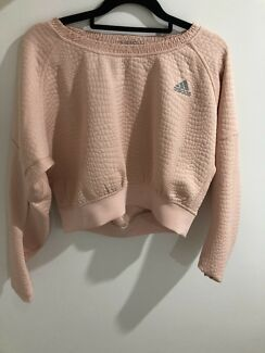 Wanted: Adidas pink cropped jumper