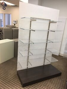 Luxury Display, Shelves, Divider, on wheels (several)