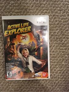 Wii Active Life Explorer Game and Mat