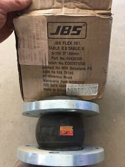 """3"""" 80mm  flanged flexible joint"""
