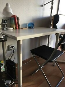 White Study/Work Desk For Sale