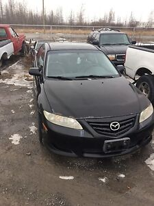 Parting out Mazda 6