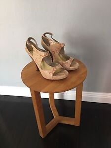 Belle by Tilly Rose Leather High Heels Size 41 Abbotsford Canada Bay Area Preview