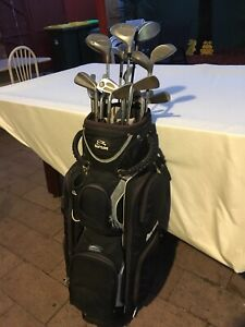 Golf clubs mixed brands