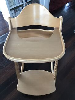 Jolly Stokke Like Timber Adjustable High Chair