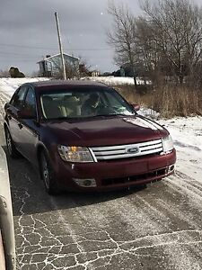 Mint condition MVI 2008 Ford Taurus