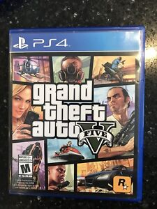 Grand theft auto GTA5 pour PS4