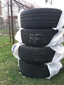 4 pneus d'hiver Run Flat Falken