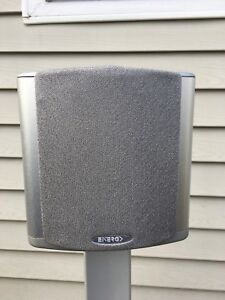 Pair of Energy ACT 6 speakers W/stands
