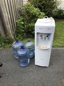 Water cooler and jugs