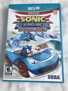Wii U jeu Sonic All Stars Racing Transformed