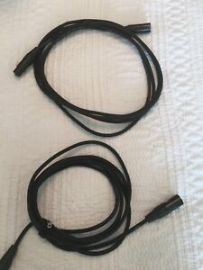 Digiflex HXX-10 Performance series Hi-Flex 10' mic cables x2