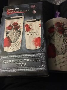 Penny Dreadful ceramic travel mug