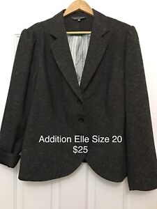Plus size women's clothing - Blazers, Cardigan And Pants