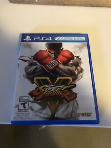 FS: Street Fighter V for PS4