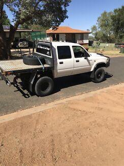 Rebuilt 2.8 litre turbo diesel hilux