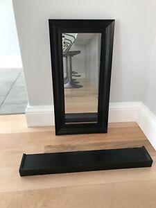Mirror and Shelf