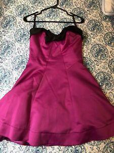 Betsey Johnson pink cocktail dress