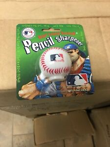 Boxes of Baseball pencil sharpeners 144 pieces per box
