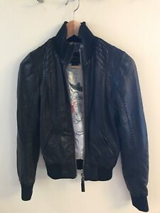 Aritzia Leather Jacket - XXS