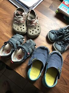 Boys shoes and sandales (x4) pairs - toddler