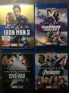 Marvel movies -$10 each
