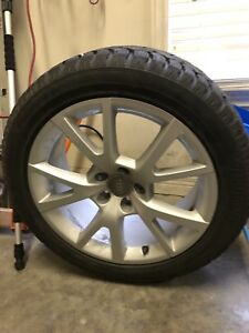 Stock Rims and winter tires off Audi A6 20116