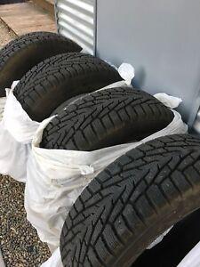 Winter tires // Pneu d'hivers