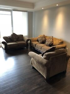 Couches in a VERY GOOD CONDITION + Chairs and Tables for FREE!