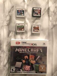 4 Nintendo 3DS games