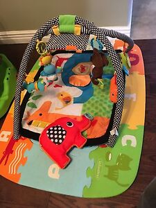 Activity/play mat and foam base