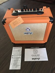 New Orange Guitar Am - Crush 20RT