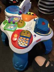 Baby stand table