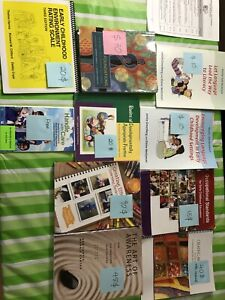 Ece year 1 certification textbooks and manuals.